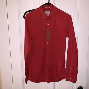 Men Slim Untucked J.Crew Shirt (XS)